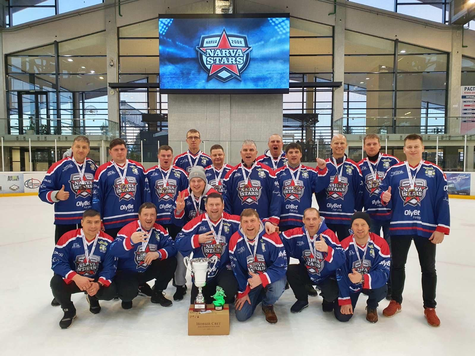 Хоккеисты Narva Stars взяли бронзу на «путинском» льду