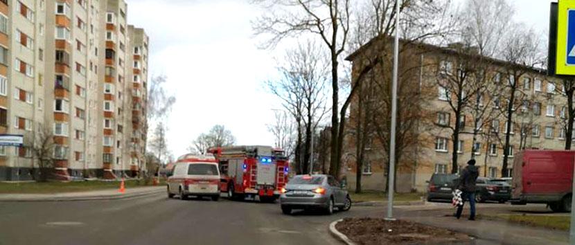 Не бомба! В Нарве перекрыли улицу Раквере из-за сумки с книжками
