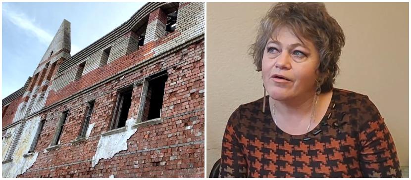 Развалины на задворках Нарвы: суд не поддержал владелицу, а городу этот объект не нужен