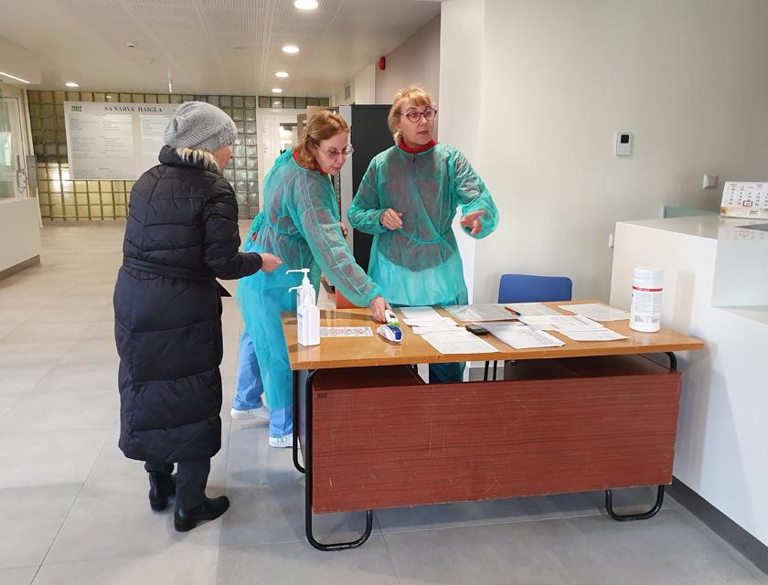 Нарвская больница готовится к борьбе с коронавирусом