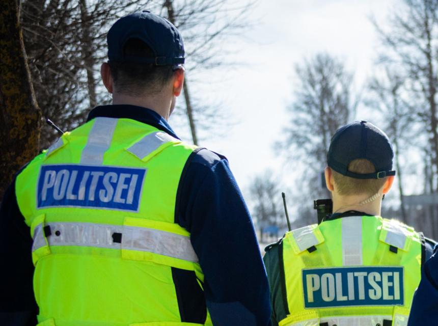 Отдыхающие и занимающиеся спортом на улице нарвитяне добавляют полиции работы