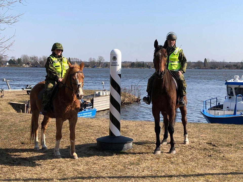 Идаская префектура временно ввела конное патрулирование