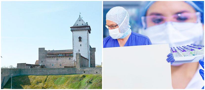 Пятый день новых зараженных коронавирусом в Нарве тесты не выявляют. Проб стали брать больше