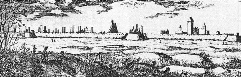 Некоторые исторические заметки к вопросу онарвских развалинах