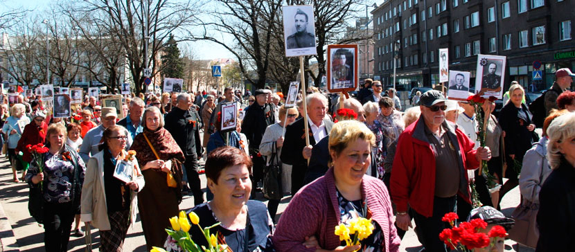 Организаторы празднования 9 Мая в Нарве: включите в 12.00 песню «День Победы», подпевайте, кричите «Ура!»