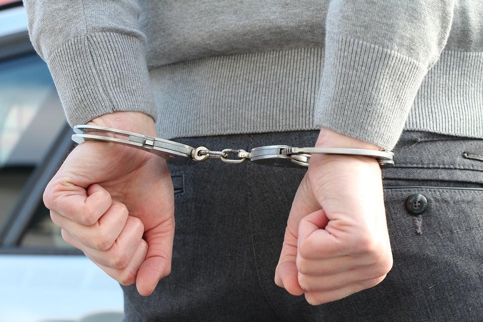 Видео погони. Пытавшегося скрыться от полиции молодого водителя без прав поймали в лесу Нарва-Йыэсуу и взяли на месяц под стражу