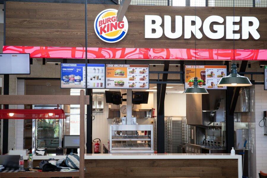 Цены кусаются. Три первых в странах Балтии ресторана Burger King откроются в среду в Таллинне