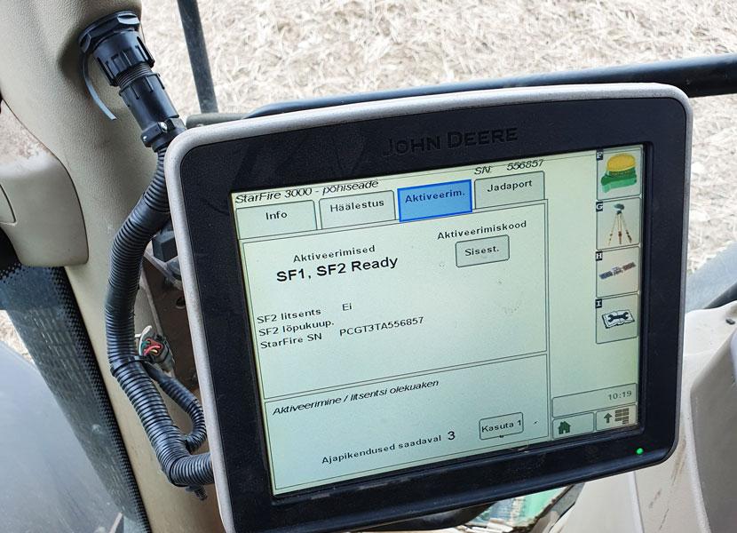 Полиция предупреждает: участились кражи GPS-устройств с сельскохозяйственной техники