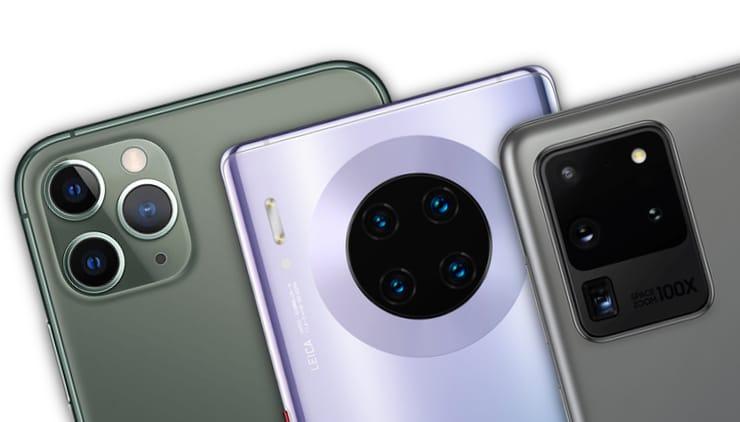 В каком смартфоне самая лучшая камера в 2020 году – Топ 10