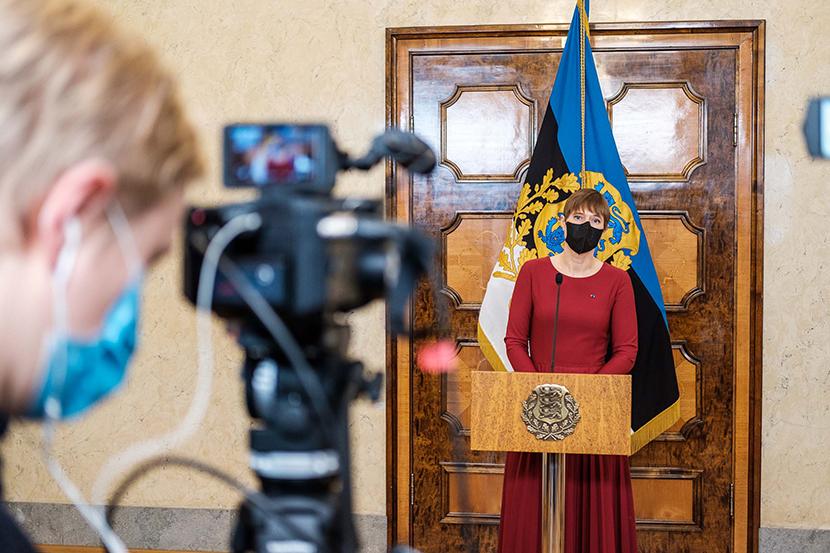 Президент Кальюлайд: предлагаю Кайе Каллас сегодня стать кандидатом в премьер-министры