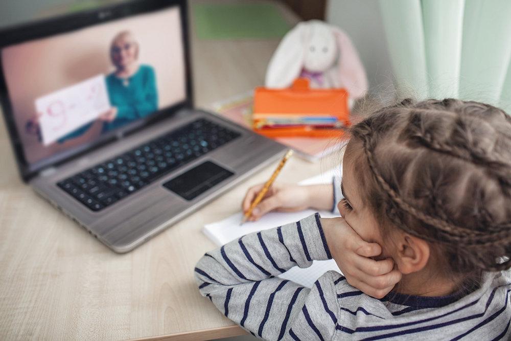 Служба образования: «Онлайн-уроки должны составлять не менее половины от объема всей учебной работы»