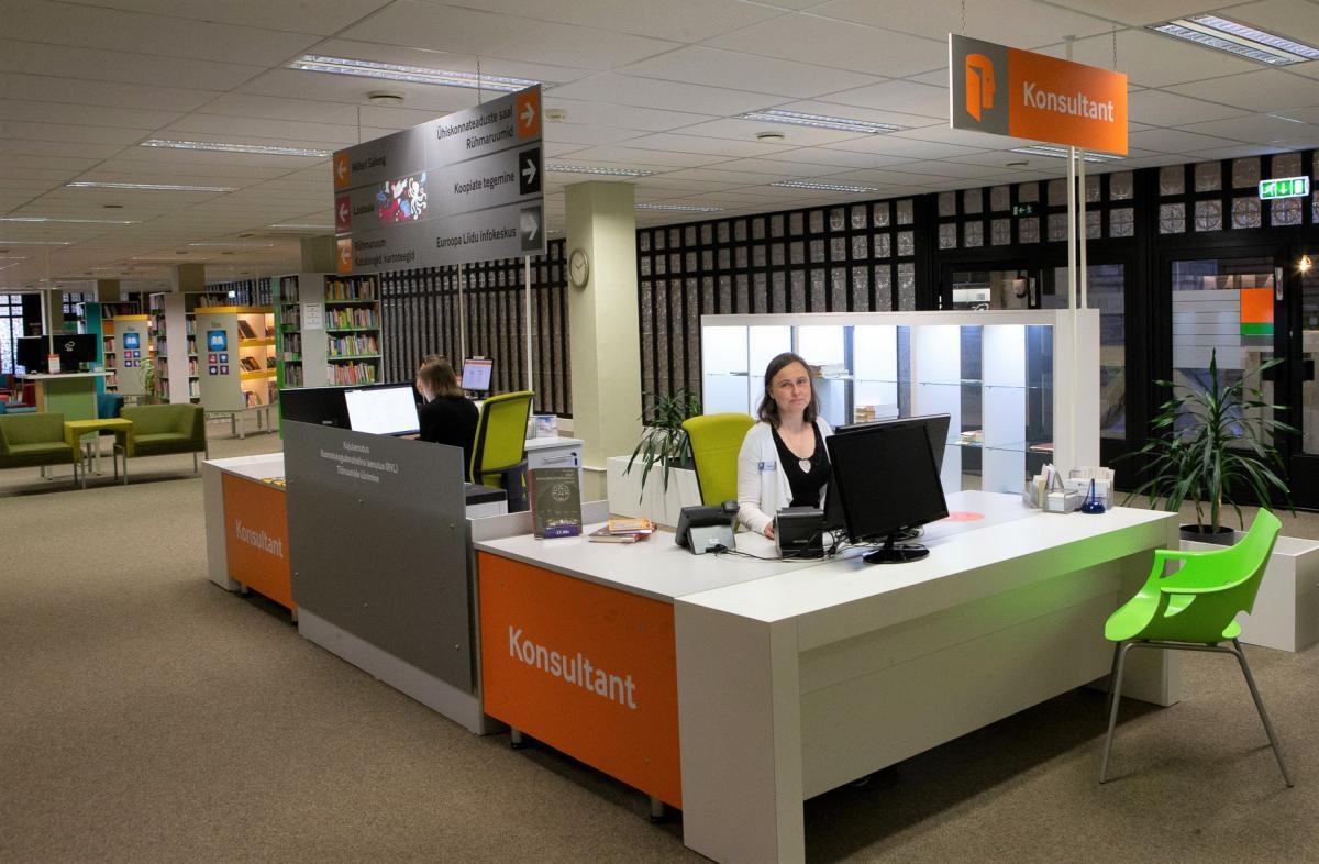 В будущем взять книгу из библиотеки можно будет, находясь в любом уголке Эстонии