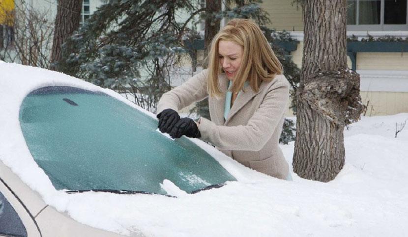 Что делать, если машину сковал ледяной дождь