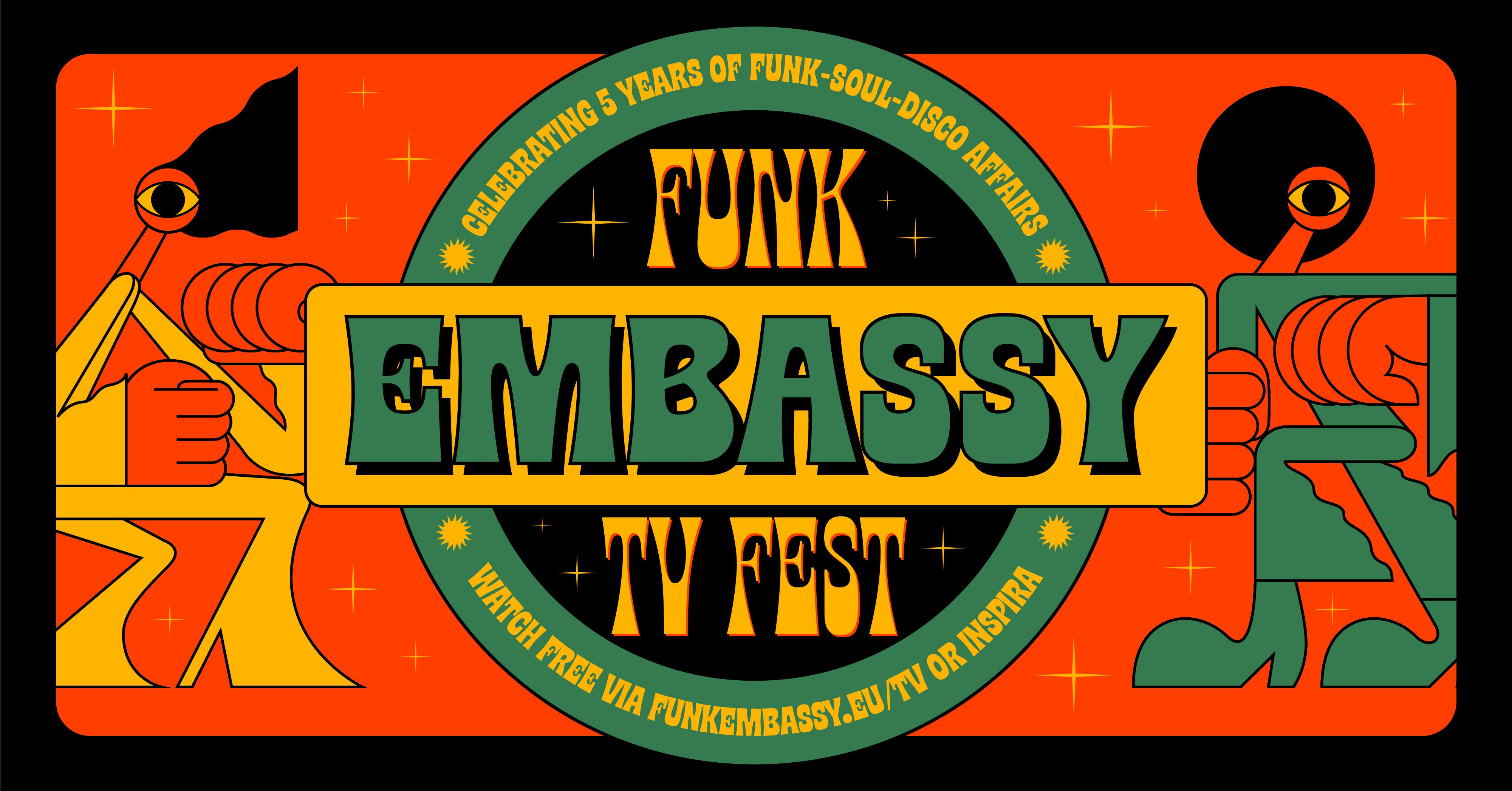 В Нарве Estonian Funk Embassy отметит свой 5-й день рождения телефестивалем из Нарвы