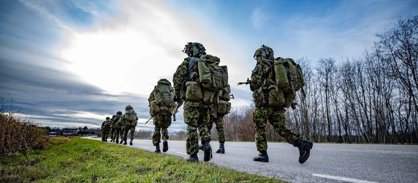 В Силах обороны COVID-19 выявлен у почти 170 срочнослужащих