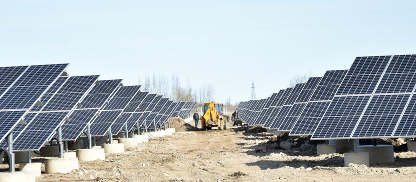 В Нарве готовится к запуску крупнейшая в Ида-Вирумаа солнечная электростанция