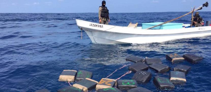 В Карибском море задержаны граждане Эстонии и Латвии с грузом кокаина
