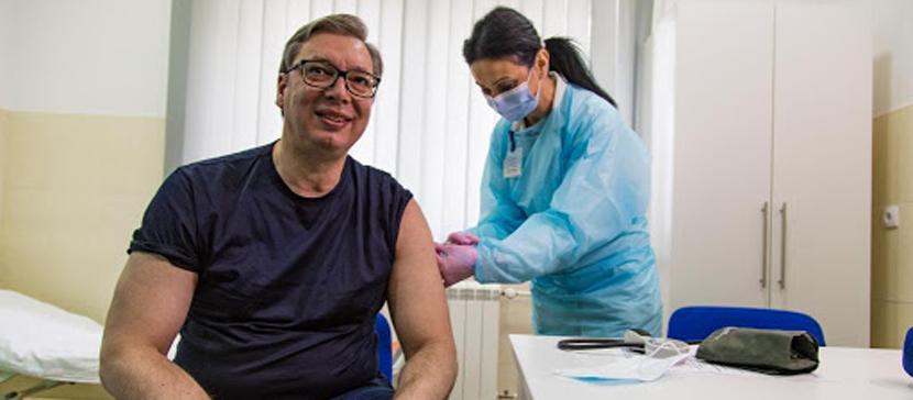 Сербия будет платить людям за сделанную прививку от COVID-19