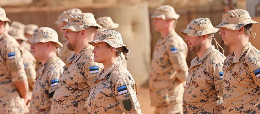 Деятельность эстонского спецназа в Мали временно приостановлена