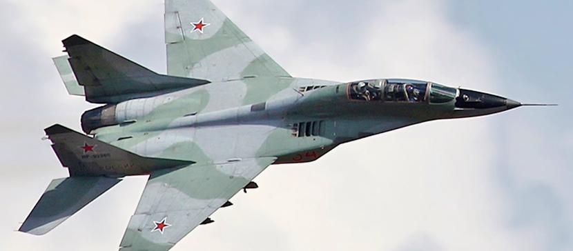 Польский истребитель по ошибке обстрелял самолет напарника