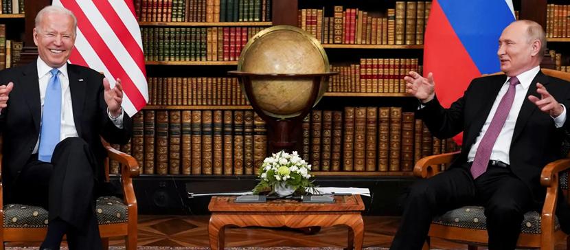 Первый раунд переговоров Путина и Байдена завершен